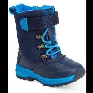 Carter's Toddler Blue Snow Boot